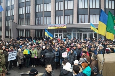 В Кривом Роге подготовили семь автобусов для активистов которые поедут в Киев