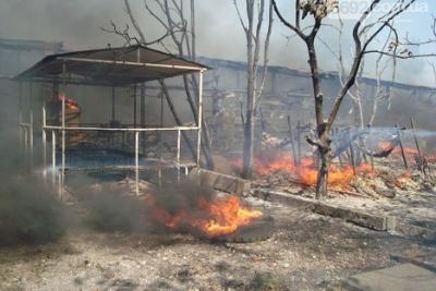 Живьем сгорел пенсионер— Пожар вДнепре