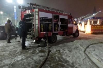 ВКаменском тушили пожар наплощади