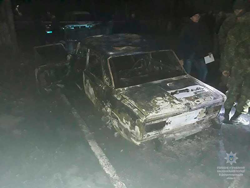 ВДнепропетровской области полицейских обстреляли изгранатомета