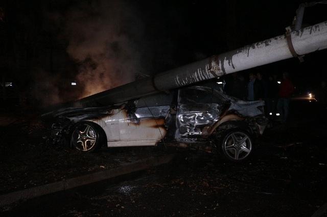 Погоня спожаром вцентре Днепра: 2 человека доставлены вбольницу