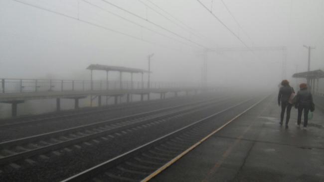 Утром днепрян обеспокоил непроглядный туман